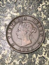 1871 Prince Edward Island 1 Cent Lot#Z1481