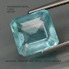 AQUAMARINE BERYL NATURAL MINED UNTREATED 5.36Ct  MF7297