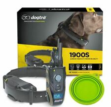 Dogtra 1900S Remote Dog Training Collar 3/4 Mile w/ FREE Travel Bowl- FAST SHIP