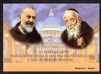 Italia 2016 : Padre Pio - Folder perfetto , tiratura limitata