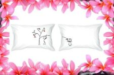 """Love Grows"" Pillow Cases - Romantic Love Gifts"