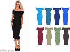 Unbranded Viscose One Shoulder Dresses Midi