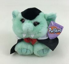 "Puffkins Halloween Count The Vampire Collectible 4.5"" Bean Bag Plush Stuffed Toy"