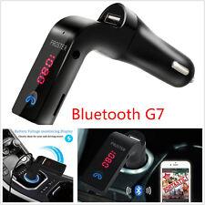 12V Car LCD Wireless Bluetooth G7 WMA MP3 Player FM Transmitter Handfree AUX Kit