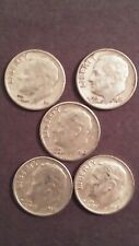 Roosevelt Silver Dime Lot of 5 ('60-'64) #5