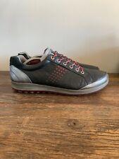 Ecco Biom Yak Leather Natural Motion Hydromax Golf Shoes Mens sz 47 US 13-13.5