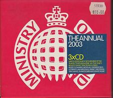 Ministry Of Sound - The Annual 2003 -MOBY.DJSAMMY.MOGUAL.UNDERWORLD.4STRINGS-NEW