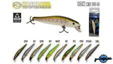Leurre poisson nageur ION XS 70S KOSADAKA 70mm 6,7g pêche perche truite chevesne