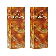 Anti-tabaco dobladillo Incienso Hexa Pack de 12 X 20 Sticks = 240 Palos