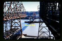 Highway Bridge Construction in California in 1950s, Original Slide aa 4-5a
