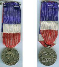 Médaille - Travail sécurité sociale J.Granet 1958 argenté