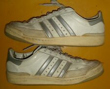 Vintage 1983 Adidas ATP Leather Tennis Shoes Made in France Size US 10 UK 9 EU43