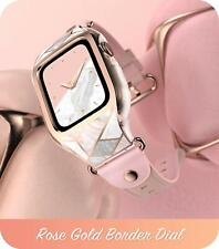 For Apple Watch Series 5 4 3 2 1, i-Blason Cosmo Wristwatch Case w/ Strap Band