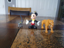 Diego from Ice Age, Mikey Mouse, and a Lemur. Mouse and Lemur do not Articulate