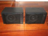 Realistic 40-1360 Nova Sound Stereo Speaker System MINT