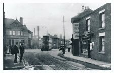 Transport Derbyshire RIPLEY Nottingham Rd Tram #24 Photographic copy by Packer