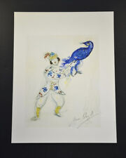 "Marc Chagall, Lithograph ""La Chasse"", from ""Suite Ballet"", Hand Signed, with COA"