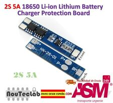 2S 5A Li-ion Lithium Lipo 7.4V 8.4V 18650 BMS PCM Battery Protection Board