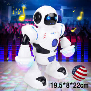 Toys for Boys Kids Music Dancing Robot 3 4 5 6 7 8 9 10 11 Years Age Birth Gift