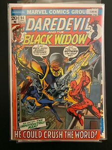 Daredevil and the Black Widow 94 Mid Grade Marvel Comic Book CL85-41
