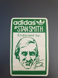 ADIDAS STICKER -  STAN SMITH - ENDORSED BY #STANSMITH (trainers CASUAL)