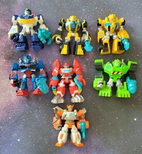Playskool Heroes Transformers Rescue Bots Figure Lot of 7