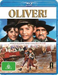 OLIVER (1968) Region B [Blu-ray] Mark Lester Oliver Twist Charles Dickens