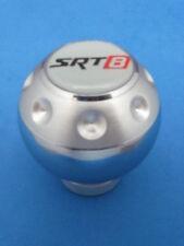 SRT8 SRT-8 LOGO ALUMINUM GEAR SHIFT KNOB SILVER #204