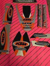 Ktm 125 250 Sx Exc 1998-2003 Trim Kit Fender Graphics Decals Arm Fork Tecnosel