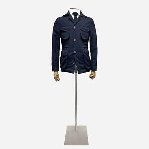 ISAIA Field Jacket, Navy. Size 36 UK, 46 IT