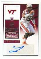 2016 Panini Contenders Draft College Ticket Autograph AUTO #261 Luther Maddy