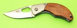 Taschenmesser mit Gürtelclip Arbeitsmesser öffnen mit einer Hand möglich TOP!