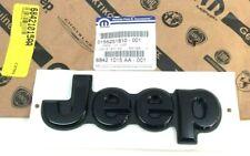 2018 2019 2020 Jeep Compass rear liftgate hatch black Nameplate Emblem new OEM
