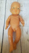"VTG Anatomically Correct~16""~Newborn BOY BABY Doll~ADORABLE"