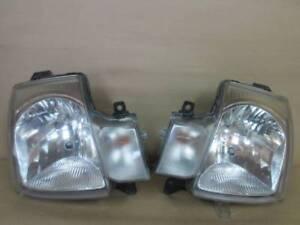 JDM 2008 Suzuki ALTO HA24S Halogen Headlights Lights Lamps Pair set OEM