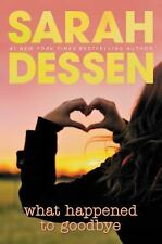 What Happened to Goodbye, Dessen, Sarah, Good Condition, Book