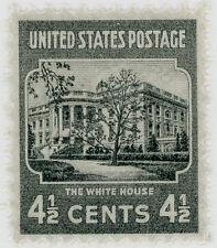 Us Scott #809 White House (1938) Presidential Series 4 1/2¢ Mnh*Free Ship*