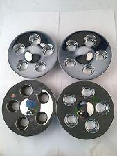 Set 4 96-99 Ford Taurus OEM Chrome Wheel Center Cap F6DC-1A096-CA HOL 3178 F47