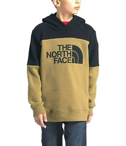 New The North Face Boys Athletic Metro British Khaki Pullover Hiking Hoodie XL