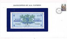 Franklins billets de toutes les nations finlande 5 P106Aa 1963 unc 1/61 sig var