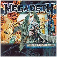 United Abominations von Megadeth   CD   Zustand sehr gut