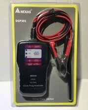 NEXAS 12 Volt Diesel Glow Plug Tester Analyzer Car & Truck Model: DGP301