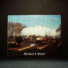 Last Breaths of Vapore by Michael Welch - Copertina rigida