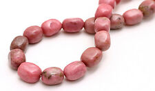 Semi Precious Rhodonite Nugget Beads 7MM