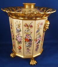 Vieux Paris Porcelain Bough / Bulb Flower Pot Porzellan Blumentopf Porcelaine