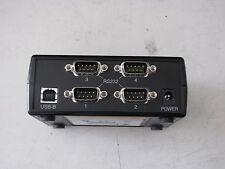 Comtrol PocketPort USB Serial Hub  RS232 4 Port P/N 3000147