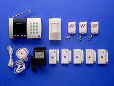 Advanced Wireless Home Security System W Auto-Dialer