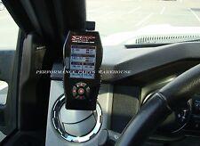 SCT X4 PROGRAMMER & PILLAR GAUGE MOUNT 2011-16 FORD F250 F350