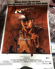 Harrison Ford Signed Indiana Jones 12x18 Photo BAS Beckett COA