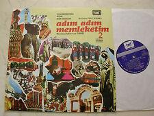 TÜRKEI LP ADIM ADIM MEMLEKETIM 2 *RARE 1977 LP auf KENT LABEL*